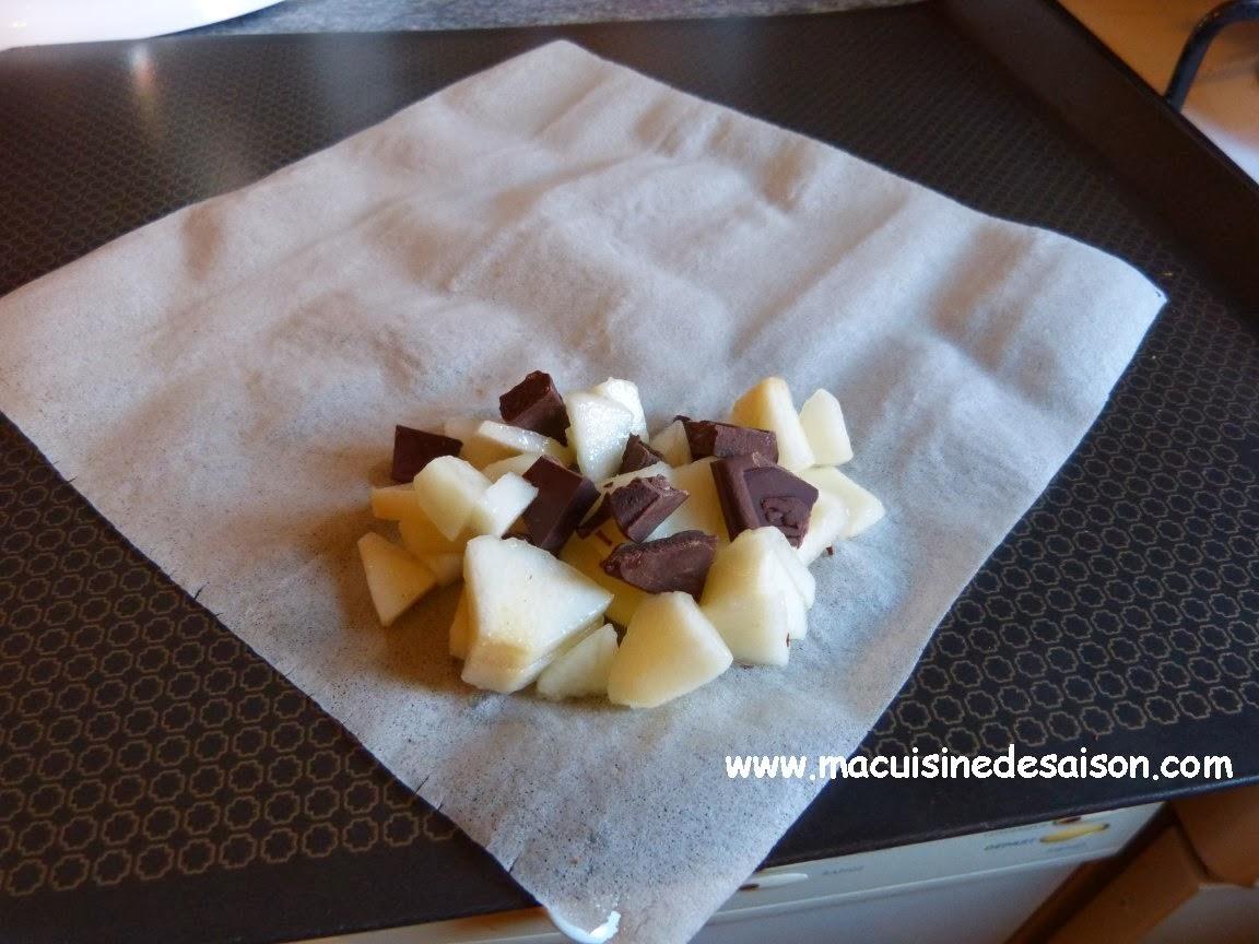 Nouvel An chinois : Nems poires chocolat