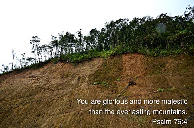 mountain, bible verse, nature