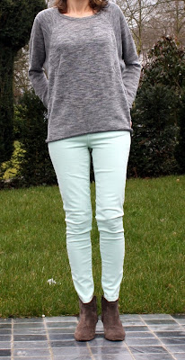New Fashion: How to combine pants Mint Green