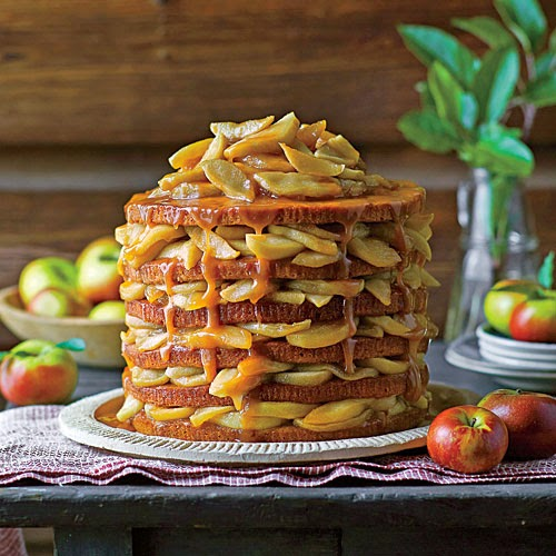 the southern living year september 12 layer apple cake and going for