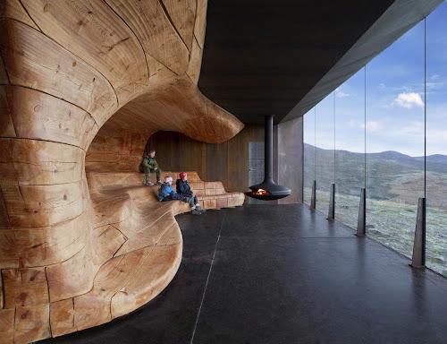 Tverrfjellhytta: Norwegian Wild Reindeer Centre Pavilion