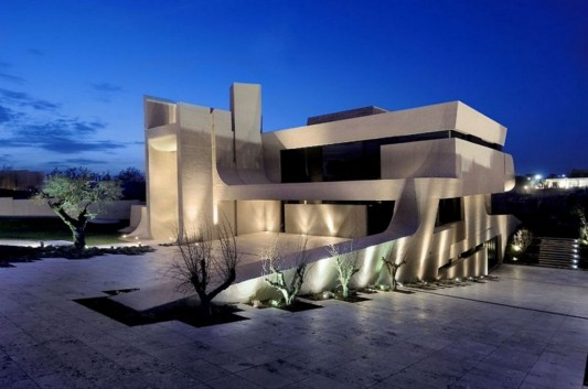 Unique home designs modern home designs for Modern concrete home designs