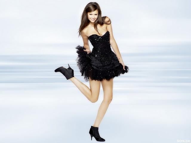 Bulgarian Actress and Model Nina Dobrev