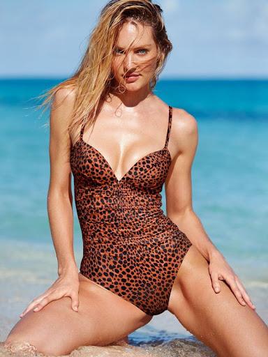 Candice Swanepoel sexy bikini body photo shoot for Victoria's Secret bikini model