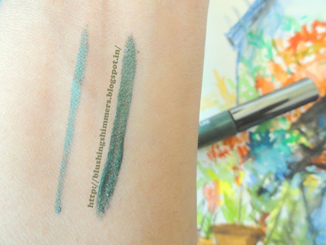 Lakme Absolute Shine Line - Olive swatch