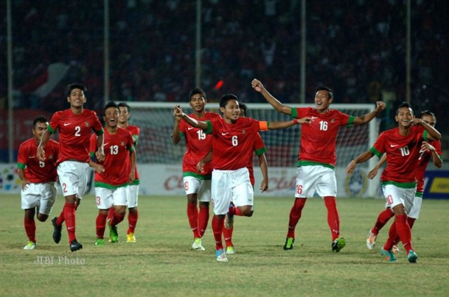 Indonesia U 19 2 640x424 Indonesia vs Malaysia 1 1: Hasil & Klasemen Piala AFF U19 2013