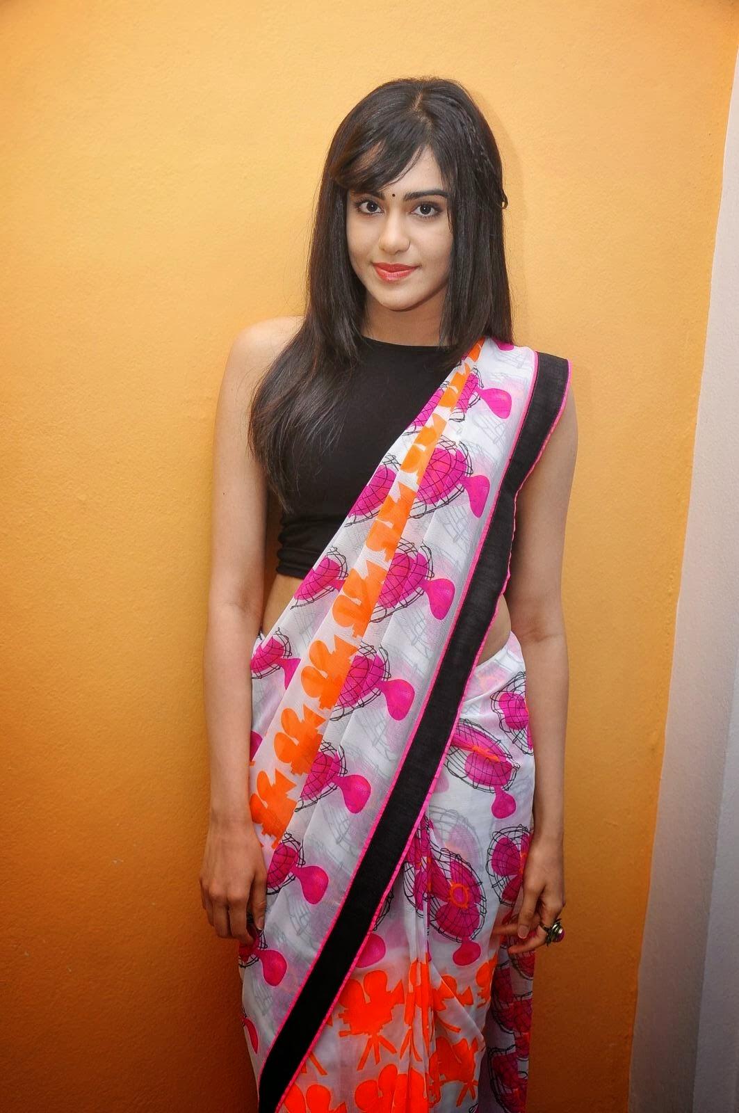 Adah Sharma latest hot saree  photos