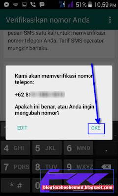 cara daftar whatsapp di HP android terbaru