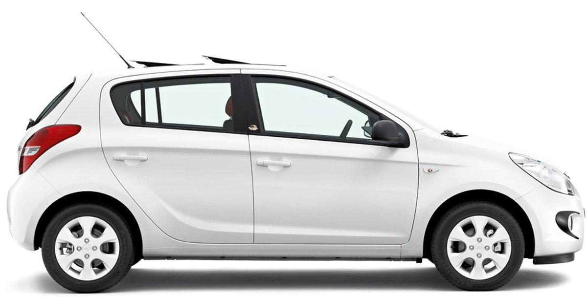 The Hyundai I20 Sportz Car