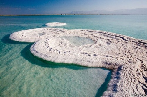 Quiet, real, smooth - the third - the Dead Sea