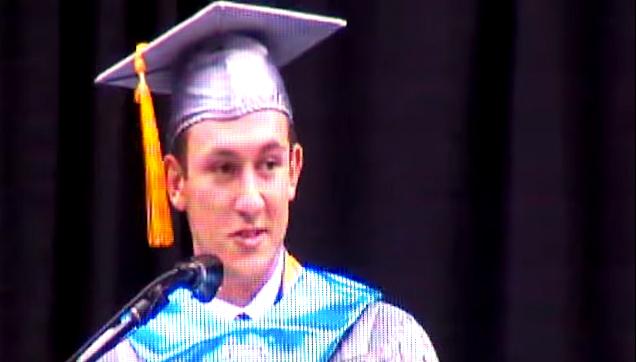 Griffin Furlong valedictorian speech