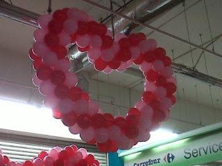 dekorasi balon CARREFOUR V