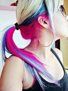 Jenjen Verrückte Haarfarben