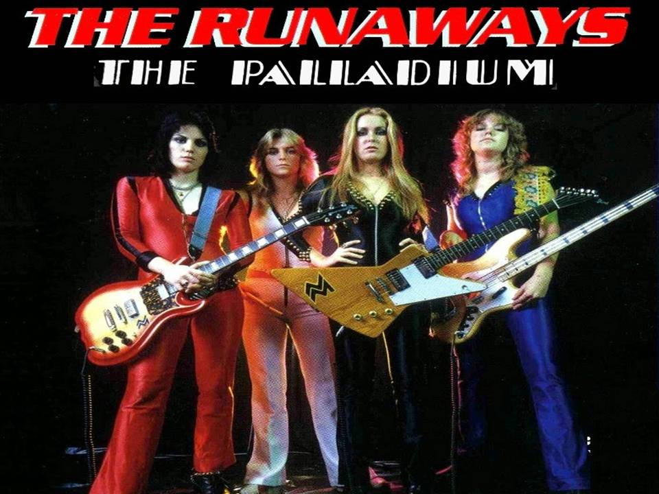 The Runaways Live at the palladium 1980