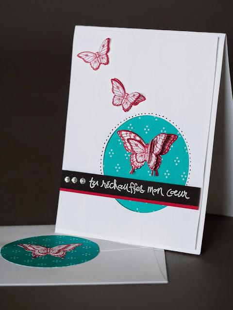 papillon potpourri Stampin' Up!