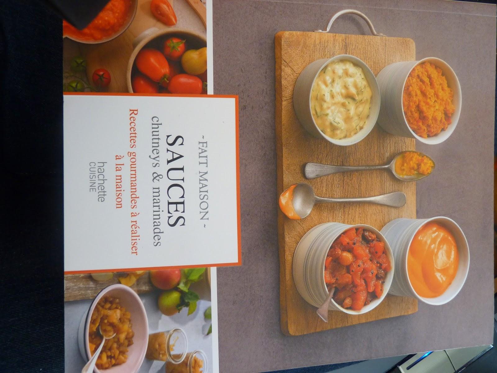 fait maison, cuisine, livre cuisine, sauce, sauces, chutneys, plats