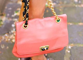 Mouche Pink Handbag