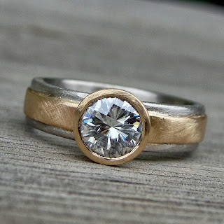 castle cut moissanite