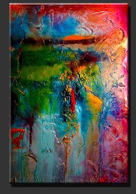 "Abstract Painting ""Just Imagine"" by Dora Woodrum"