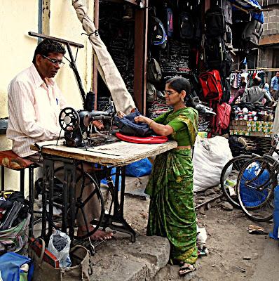 tailor on street