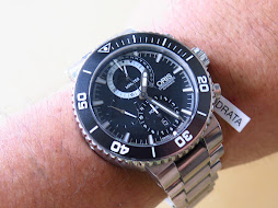 ORIS CHRONOGRAPH DIVER CARLOS COSTE - CERAMIC BEZEL - LIMITED EDITION - AUTOMATIC