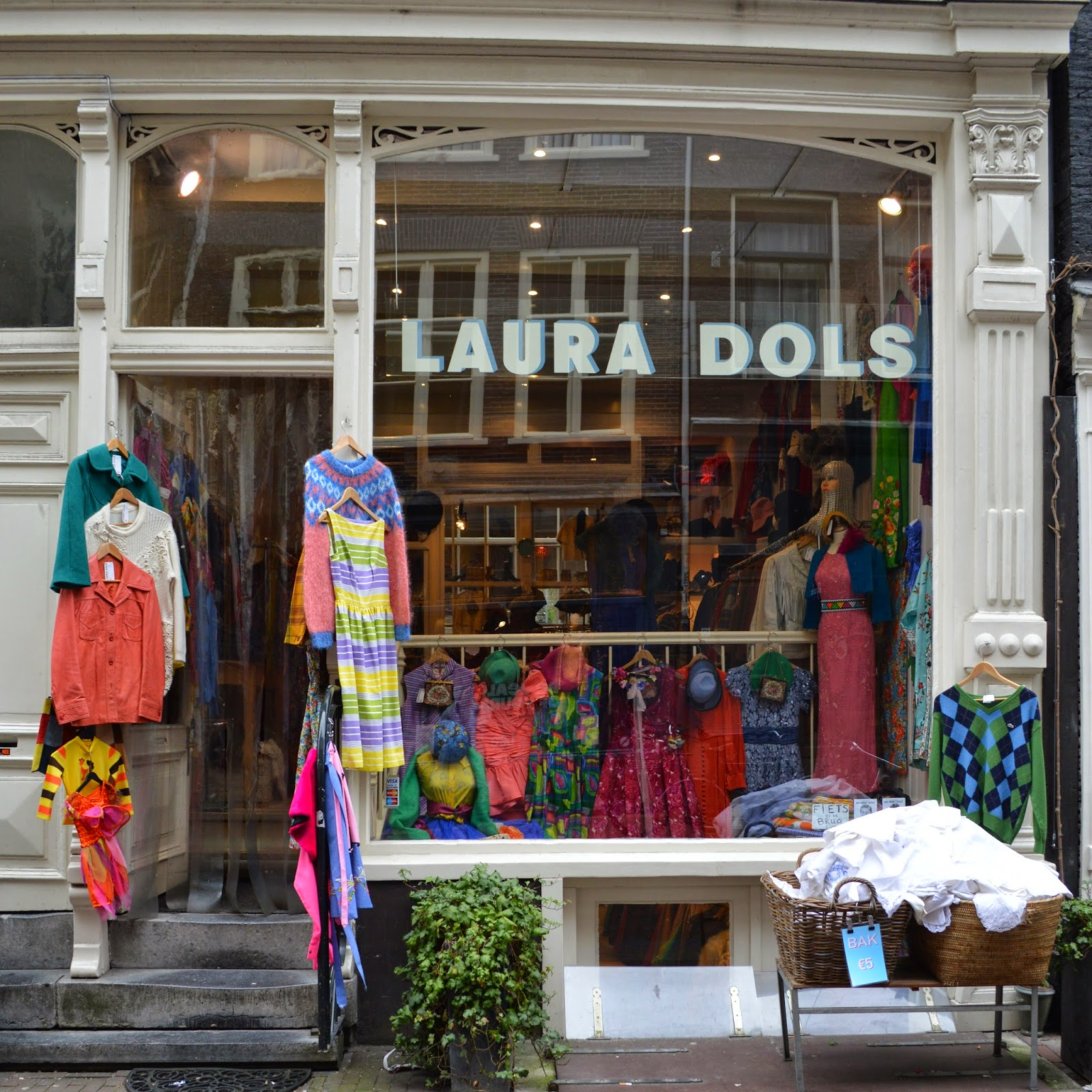 Laura Dols vintage shop Amsterdam Nine Street District shopping
