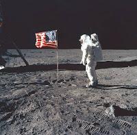 Armstrong en la luna 1969