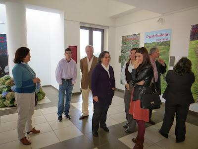 Receção aos Convidados e Visita às exposições
