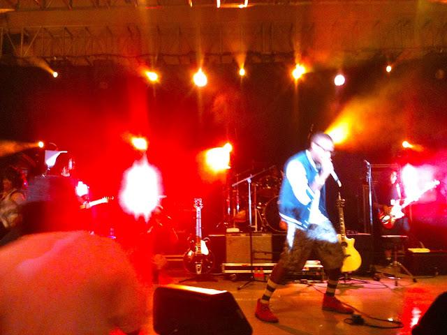 B.o.B at Signapore concert