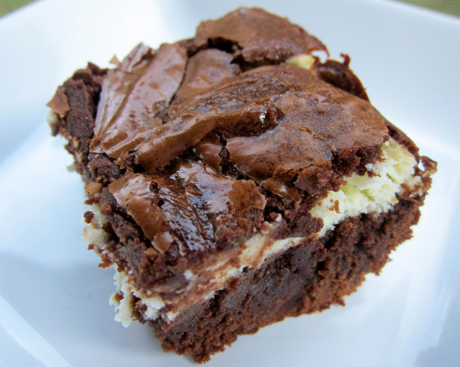Cream Cheese Brownies Recipe — Dishmaps