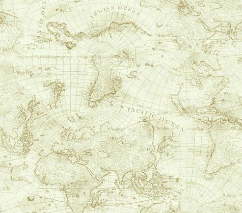 nautical chart decor prints and home accessories