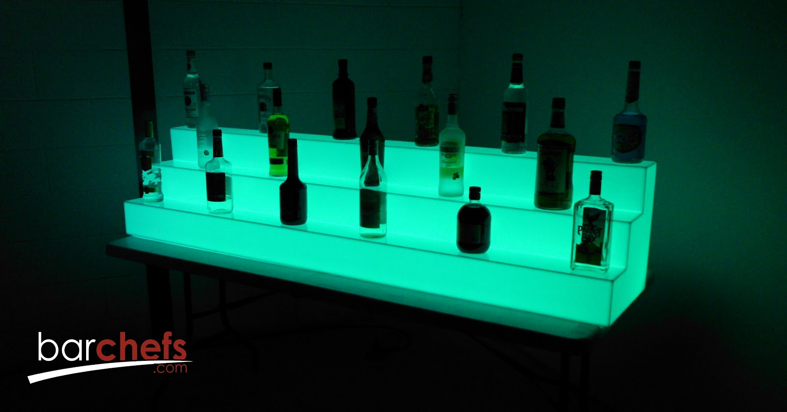 BarChefs: Light Up Bar Shelves help to increase Alcohole Sales