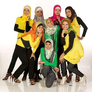 Girlband Sunni - Sunni Dan Kontroversi Girlband Berjilbab