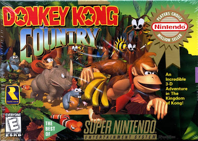 Donkey Kong Country capa
