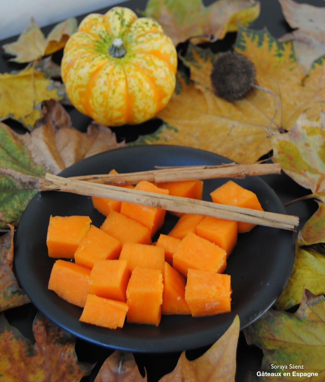G teaux en espagne beignets de citrouille un dessert - Recette dessert halloween ...
