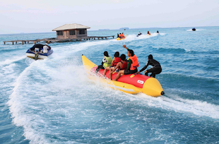 Foto Banana Boots Pulau Tidung.