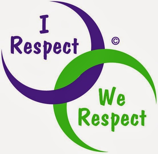 respect is a two-way thing, respect me, respect you, we respect, I respect