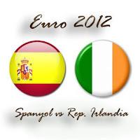Spanyol vs Rep. Irlandia