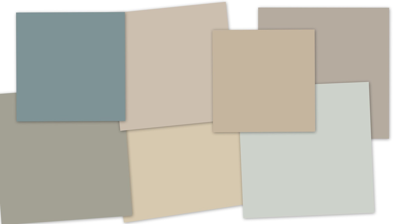 Inspired by numbers the color plan for Whole house neutral paint colors