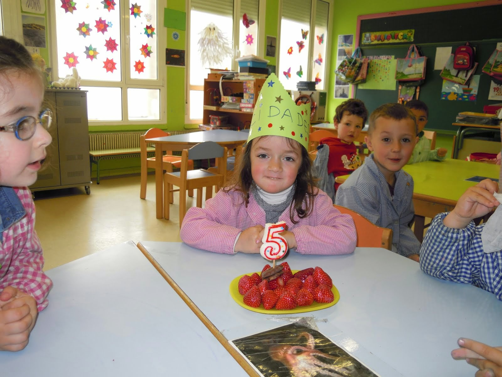 Cumpleaños de Estela.