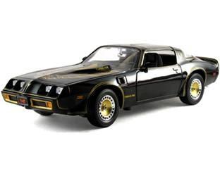 Pontiac Diecast  Greenlight 1980 Pontiac Transam Bandit Black No. 12829