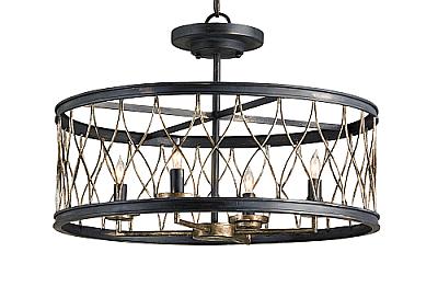 Ceiling light flush mount:Flush Mount Ceiling Light Quoizel Sea Shell Sanibel 2light 14inch,Lighting