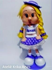 Boneca by Krika Artes Silva