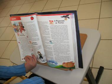 Plano inclinado para leitura
