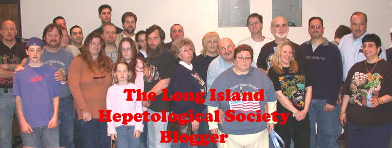 Long Island Herpetological Society Blogger