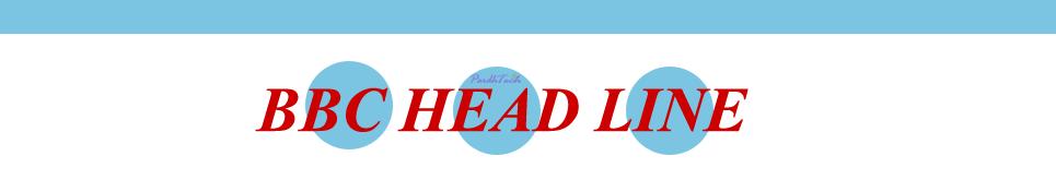 BBC Head Line