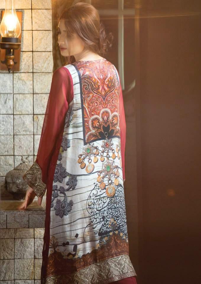 Maria.B Mbroidered Eid Dresses