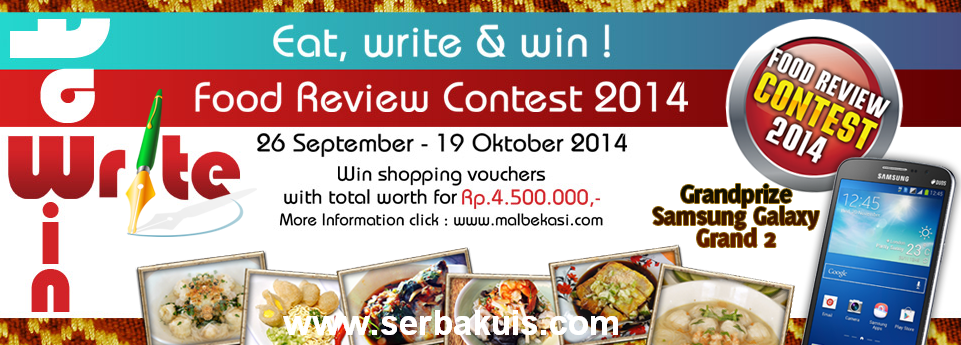 Food Review Contest 2014 Berhadiah SAMSUNG Galaxy Grand 2