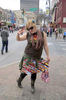 sxsw funky festival skirt