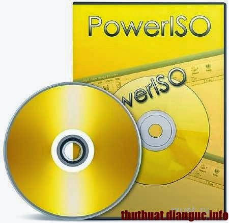 Download PowerISO 6.9 Full crack
